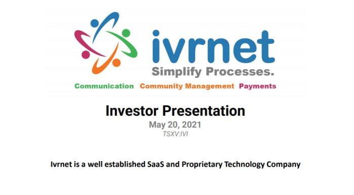 investor presentation may 2021